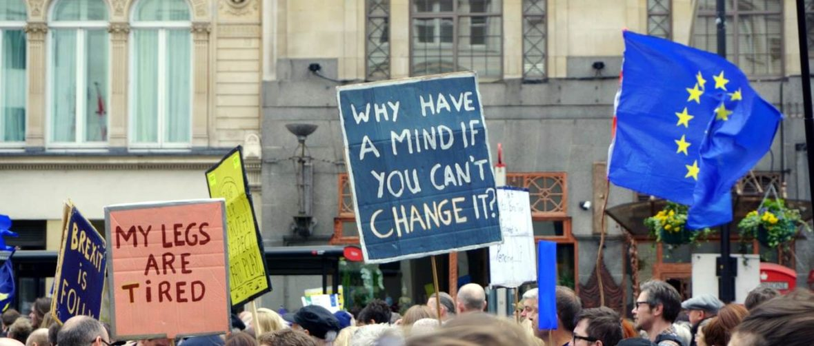 People Protesting Brexit